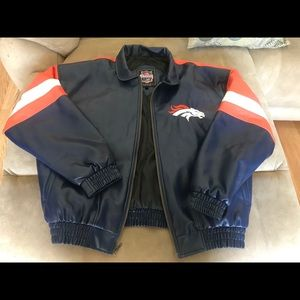 Other - Denver Broncos faux leather jacket